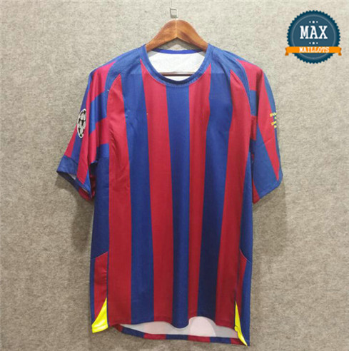 Maillot Retro 2006 UCL final Barcelone