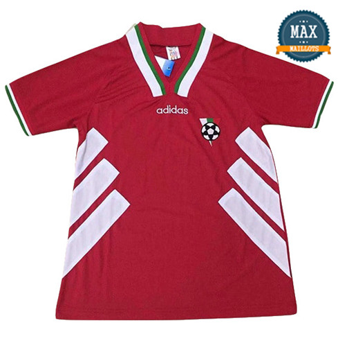 Maillot Retro 1994#Bulgarie Rouge