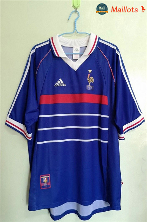 Maillot Retro 1998 WC final france Domicile