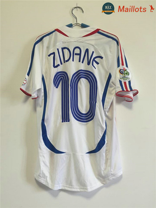 Maillot Retro 2006 Final France Exterieur (10 ZIDANE)
