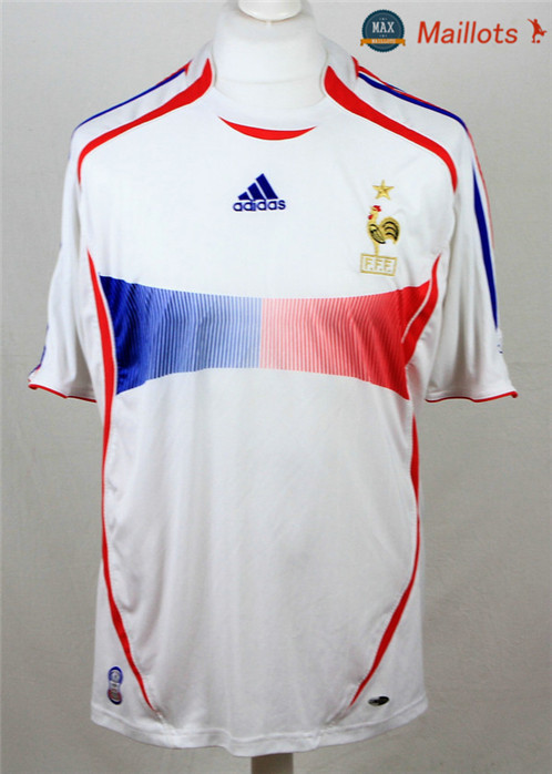 Maillot Retro 2006-07 Coupe du Monde final France Exterieur