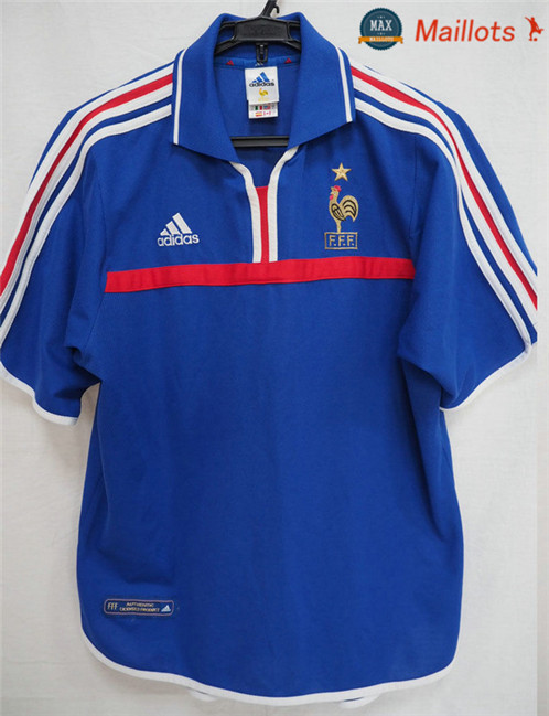 Maillot Retro 2000 Coupe du Europe france Domicile