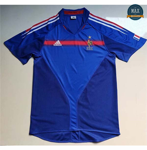 Maillot Retro 2004 Coupe du Europe France Domicile