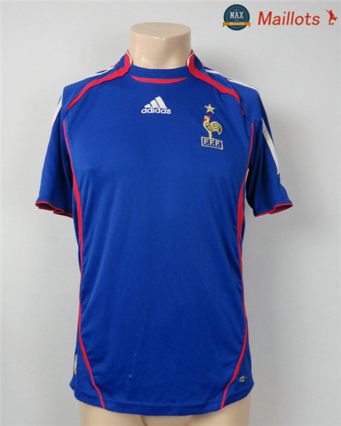 Maillot Retro 2006-07 Coupe du Monde final France Domicile