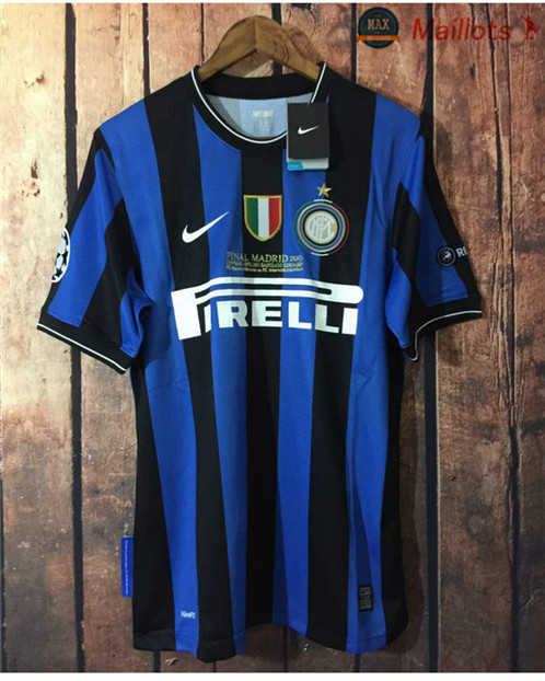 Maillot Retro 2010 UCL final Inter Milan Domicile