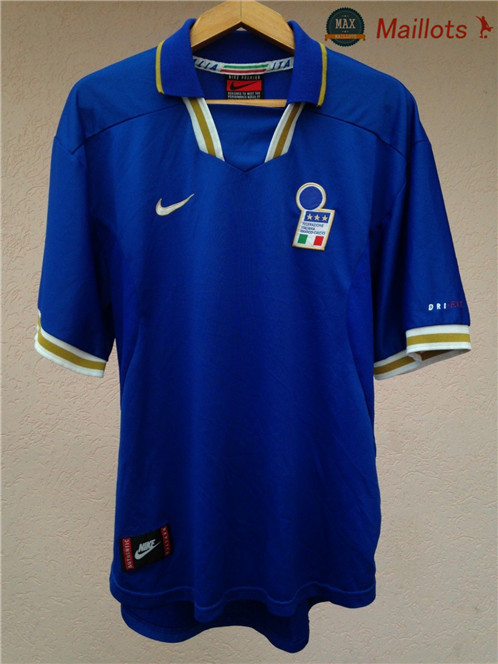 Maillot Retro 1996 Coupe du Europe Italie Domicile