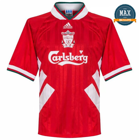 Maillot Retro 1993-1995#Liverpool Rouge