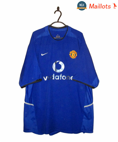 Maillot Retro 2002-03 Manchester United Third