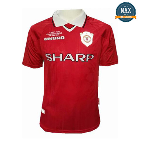 Maillot Retro 1999 UCL final Manchester United Domicile