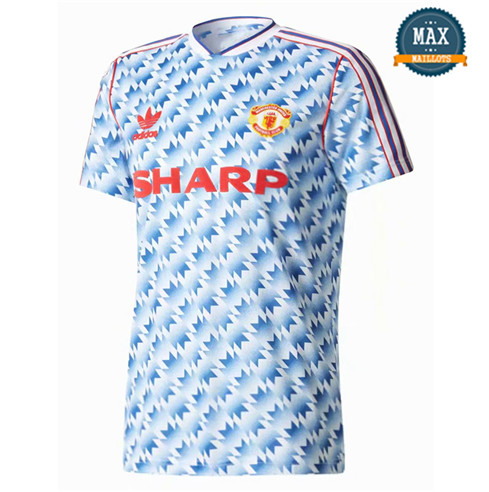 Maillot Retro 1990-1992#Manchester United Exterieur