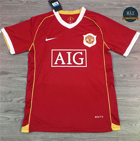 Maillot Retro 2006#Manchester United Rouge
