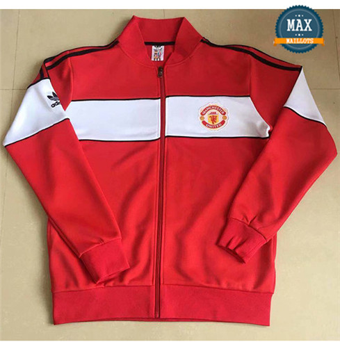Maillot Retro 1984#jacket Manchester United