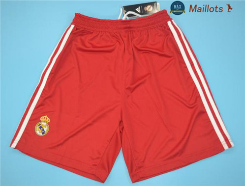 Maillot Retro 2011-12 Real Madrid Third short Rouge