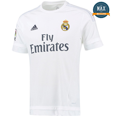 Maillot Retro 2015-16 Real Madrid Domicile