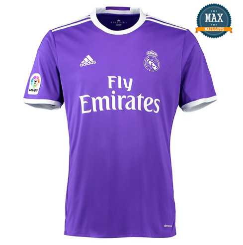 Maillot Retro 2016-17 Real Madrid Exterieur