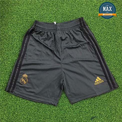 Maillot Real Madrid Shorts 2019/20 Gardien de but Noir