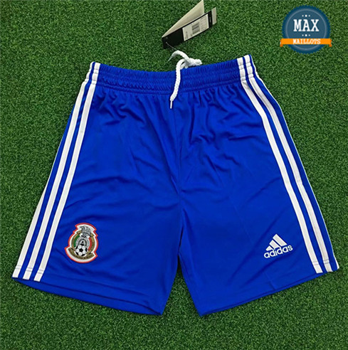 Maillot Mexique Shorts 2019/20 Gardien de but Bleu
