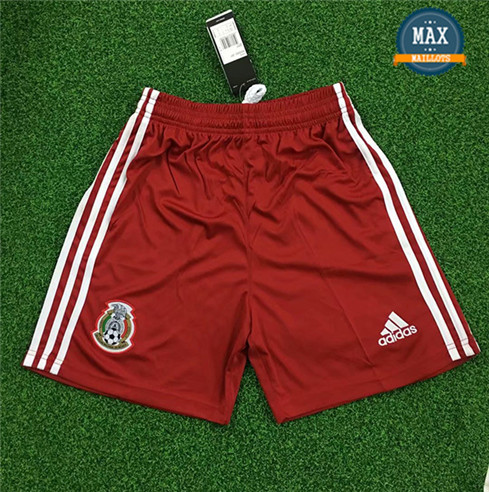 Maillot Mexique Shorts 2019/20 Gardien de but Rouge