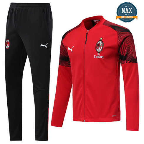Veste Survetement AC Milan 2019/20 Rouge