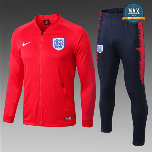 Veste Survetement Angleterre 2019/20 Rouge