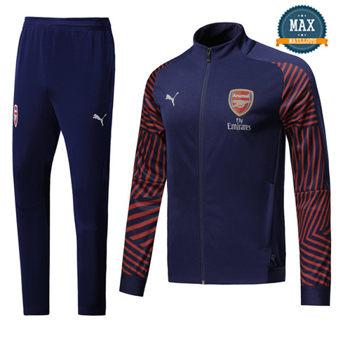 Veste Survetement Arsenal 2019/20 Bleu Marine Strike Drill