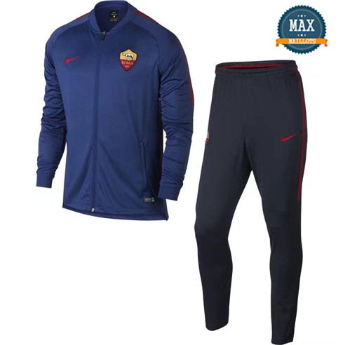 Veste Survetement AS Roma 2019/20 Bleu