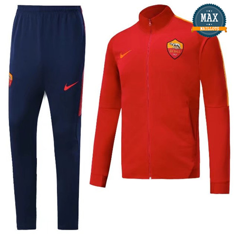 Veste Survetement AS Roma 2019/20 Rouge
