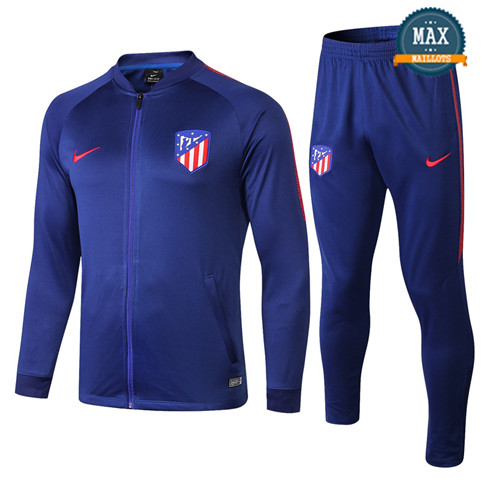 Veste Survetement Atletico Madrid 2019/20 Bleu Marine