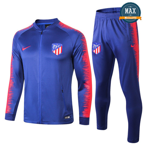 Veste Survetement Atletico Madrid 2019/20 Bleu Strike Drill