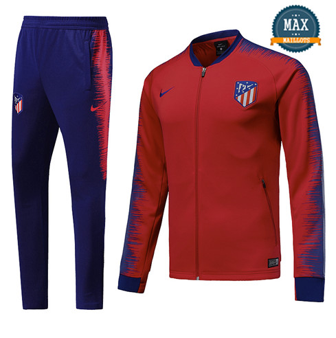 Veste Survetement Atletico Madrid 2019/20 Rouge/Bleu Strike Drill
