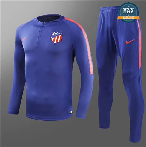 Survetement Atletico Madrid 2019/20 Bleu Marine