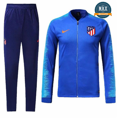 Veste Survetement Atletico Madrid 2019/20 Bleu