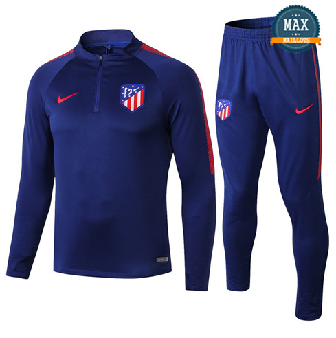 Survetement Atletico Madrid 2019/20 Couleur Bleu