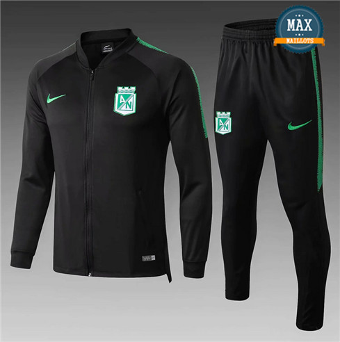 Veste Survetement Atletico Nacional Medellin 2019/20 Noir