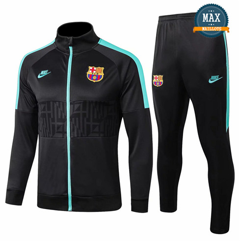 Veste Survetement Barcelone 2019/20 Noir