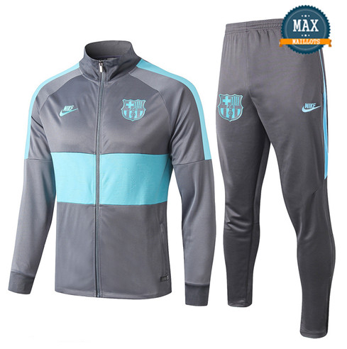 Veste Survetement Barcelone 2019/20 Gris