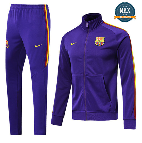 Veste Survetement Barcelone 2019/20 Violet