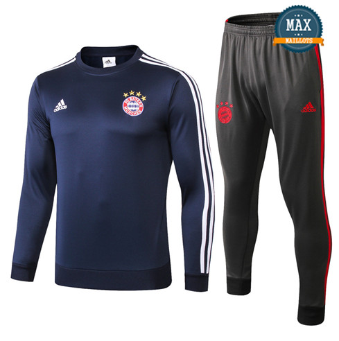 Survetement Bayern Munich 2019/20 Bleu Marine