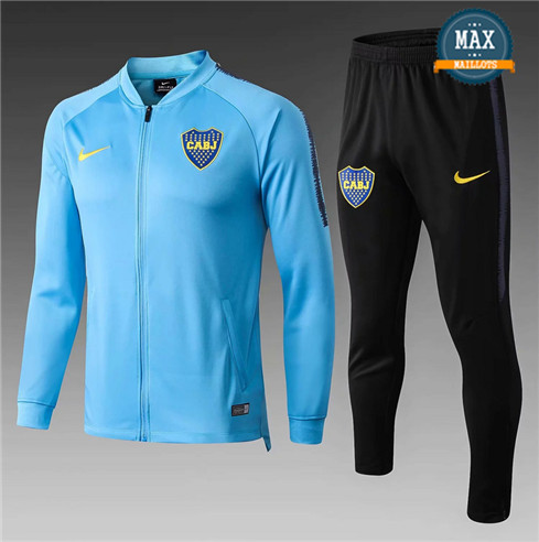 Veste Survetement Boca Juniors 2019/20 Bleu Ciel