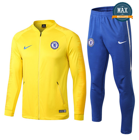 Veste Survetement Chelsea 2019/20 Jaune