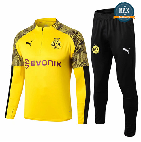 Survetement Borussia Dortmund BVB 2019/20 Jaune