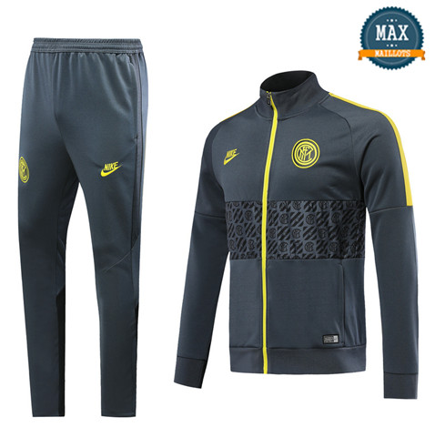 Veste Survetement Inter Milan 2019/20 Gris fonce