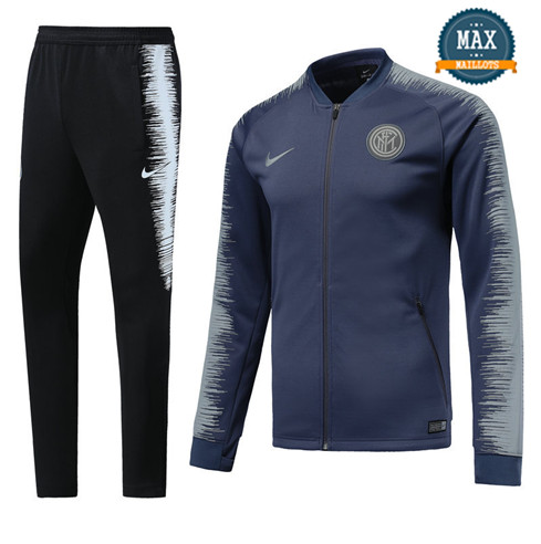 Veste Survetement Inter Milan 2019/20 Bleu Strike Drill