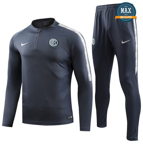 Survetement Inter Milan 2019/20 Gris Fonce