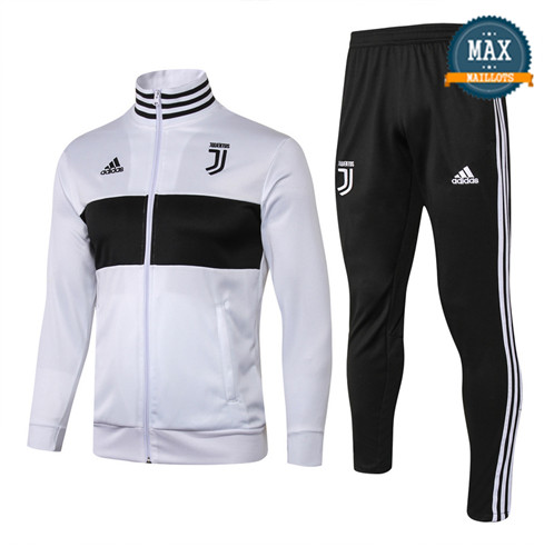 Veste Survetement Juventus 2019/20 Blanc