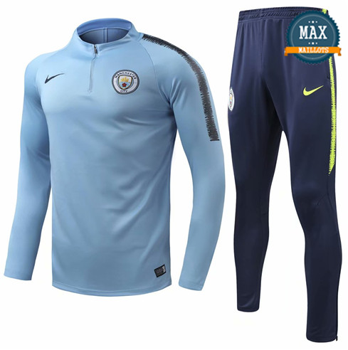 Survetement Manchester City 2019/20 Bleu