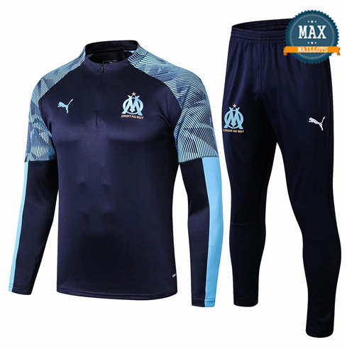 Survetement Marseille 2019/20 Bleu Marine