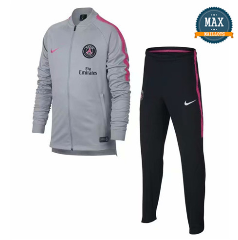 Veste Survetement PSG 2019/20 Gris
