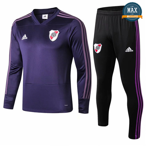 Survetement River Plate 2019/20 Violet Col V