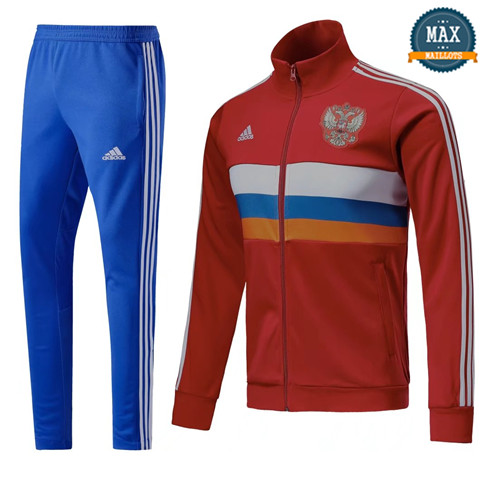 Veste Survetement Russie 2019/20 Rouge